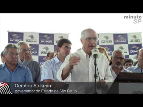 Alckmin entrega moradias populares em quatro municípios