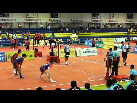 Sepak Takraw Prince Cup 2014 – Air Force vs. Port Authority of Thailand