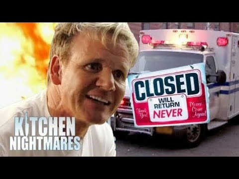 Gordon Ramsay's Top 5 SHUTDOWNS!!! (Kitchen Nightmares)