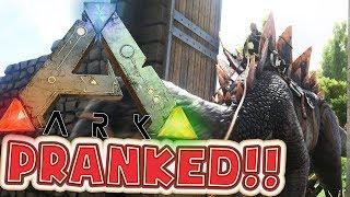 PRANKING BEN - ARK SURVIVAL EVOLVED MODDED SMP #6