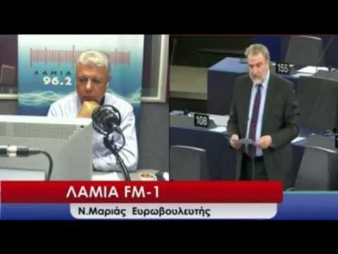 Ο Νότης Μαριάς στον ΛΑΜΙΑ FM-1 για το συντριπτικό ΟΧΙ στο δημοψήφισμα και την παραίτηση Βαρουφάκη.