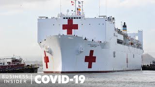 How The Navy's Largest Hospital Ship Can Help With The Coronavirus