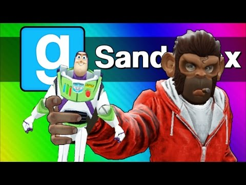 Gmod: Toy Story 4 – The Toys Escape! (Garry's Mod Sandbox Skits & Funny Moments)
