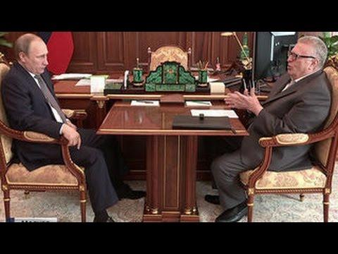 Жириновский поговорил с Путиным об амнистии - DomaVideo.Ru