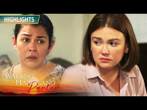 Celine becomes speechless with her mother's question | Walang Hanggang Paalam
