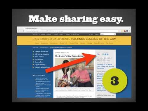 How to Use Social Media to Influence SEO mStoner webinar