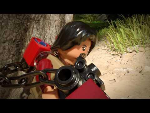Конструктор Разведывательный транспортный шагоход (AT-ST) - LEGO STAR WARS - фото № 3