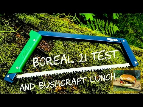 Video Boreal 21 folding bow saw, and bushcraft lunch. download in MP3, 3GP, MP4, WEBM, AVI, FLV January 2017