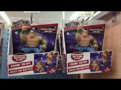 "WWE ACTION INSIDER: Walmart aisle POWERSLAMMERS FOUND retail figure review mattel ""grims toy show"""