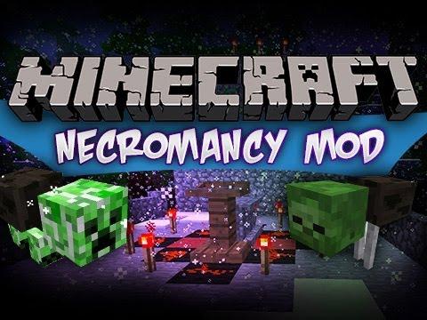 Minecraft : Necromancy Mod