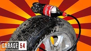 Что будет если накачать колесо кока-колой