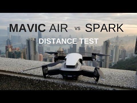 DJI MAVIC AIR vs SPARK ✈ Distance Test (Hong Kong) / 매빅에어 스파크 홍콩 비행 거리 테스트 (한글 자막)