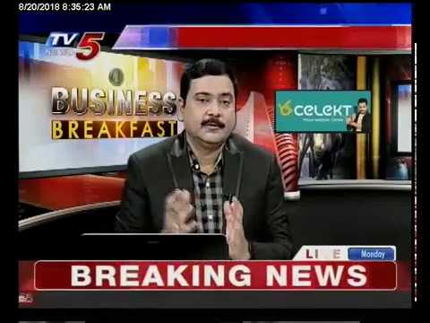 20th Aug 2018 TV5 News Business Breakfast