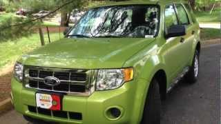 2012 Ford Escape Manual Review, Walk Around, Start Up&Rev, Test Drive