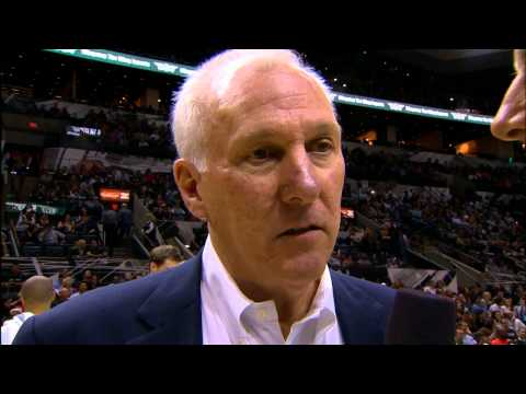 Popovich - Gregg Popovich and Craig Sager meet again for another comical moment in an interview during a San Antonio Spurs Pre-Season game vs the Houston Rockets!