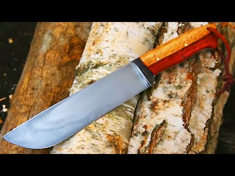knife - This is a movie of making a big chopper knife with hamon line. Music by Grzegorz Kosinśki http://www.facebook.com/pages/Grzegorz-Kosi%C5%84ski/10323797307016...