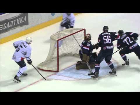 KHL Top 10 Saves for Week 2 / Лучшие сэйвы второй недели КХЛ (видео)