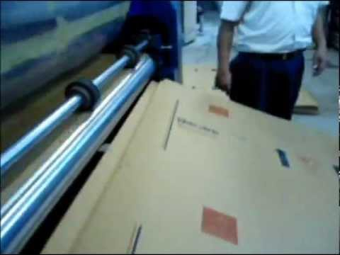 Machine Corrugated - Reel to sheet flexo printing machine brought to you you by SUPER PRINTING MACHINERY COMPANY for the first time in India. No need to change the drums as in co...