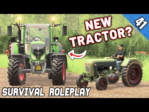 A NEW TRACTOR? + BIG PROBLEM - Survival Roleplay S3 | Episode 41