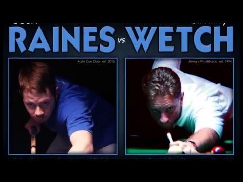 Josh Raines vs Jimmy Wetch - 10 Ball - Race to 25 - 9ft Diamond Pro Am