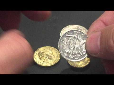 Australian Coin Errors - Rim Cuds
