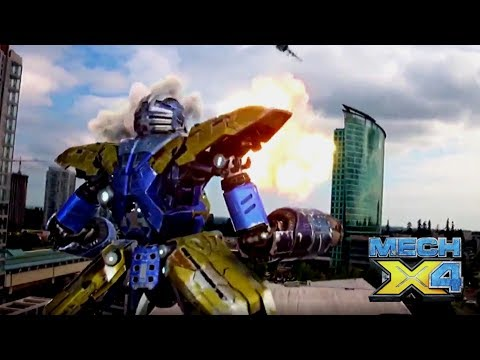 MECH-X4 Versus The Military!