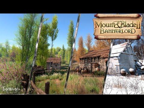 Mount & Blade II: Bannerlord - Строительство замков, огромные армии, сезоны и летающие люди (видео)