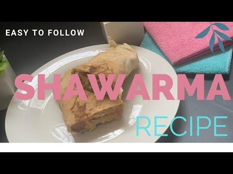 HOW TO MAKE SHAWARMA - Nigerian Spicy Suya Shawarma Recipe