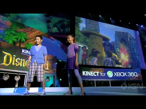 disneyland adventures - Disney Interactive and Microsoft team up and bring us this new gameplay demo for Kinect Disneyland Adventures at E3 2011. IGN's YouTube is just a taste of ou...