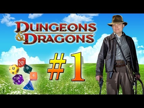 Настольная ролевая игра по системе D&D (1 серия)