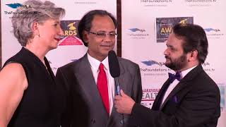 Janique and Subrata Das on FTV Red Carpet Event 2017
