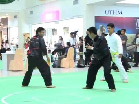 UTHM Separuh Akhir Silat Olahraga Putra Antarabangsa ( E ) Laos VS Malaysia