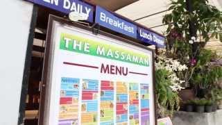 Ao Nang Restaurants, Krabi, Thailand: The Massaman Restaurant. Authentic Thai Food In Krabi