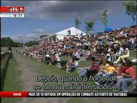 Reportagem da SIC Noticias sobre o primeiro mundial da modalidade Horseball que decorre em Ponte de Lima.