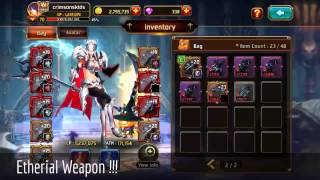 Video Kritika | White Knights | Android | Blood Demon | FINALLY ETHERIAL WEAPON | Patch 2.23 MP3, 3GP, MP4, WEBM, AVI, FLV Juli 2018