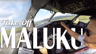 Video Cockpit View - Take Off @ Pattimura Airport, Maluku MP3, 3GP, MP4, WEBM, AVI, FLV November 2018