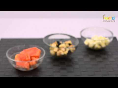 Cum se prepara un piure din legume de vara