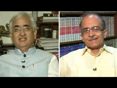 prashant - On a day he along with activist Arvind Kejriwal made allegations against Sonia Gandhi's son-in-law Robert Vadra, lawyer-activist Prashant Bhushan faces off a...