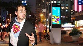NYの公衆電話ボックスが全てWi-Fiスポットに?