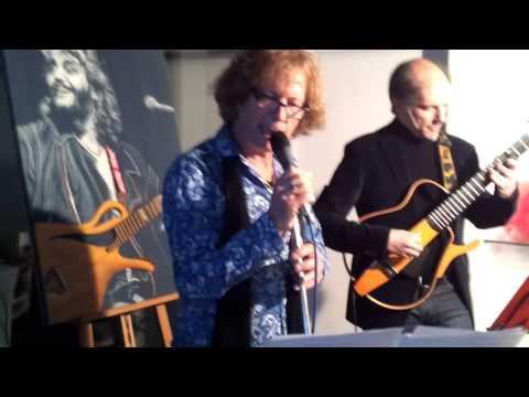 Tribute a Pino Daniele con Nico Taminto e Armando D'Esposito all'Honda bar con l'ENDAS