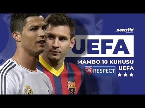 Mambo 10 usiyofahamu kuhusu UEFA (Ligi ya Mabingwa) ⚽⚽