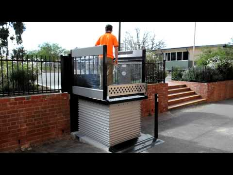 The New Terry Wheelchair Lift from P.R King & Sons