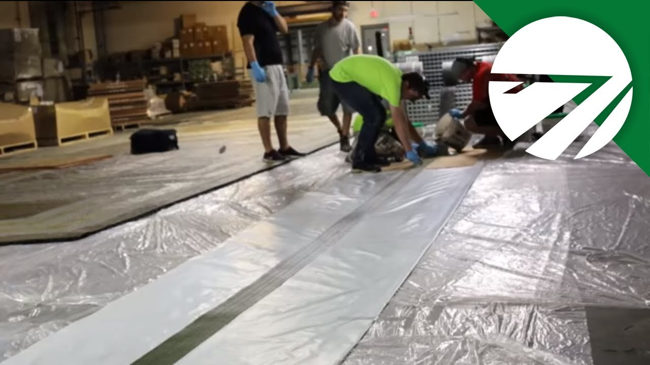 A Behind the Scenes Look at How a Turf Logo is Made