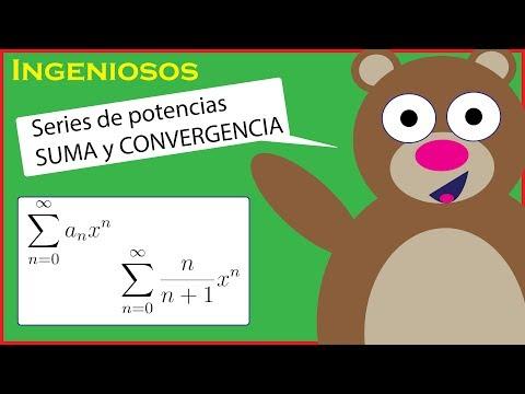 SUMA de SERIES de POTENCIAS | CONVERGENCIA y criterio del COCIENTE