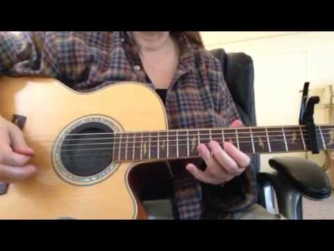 All Along the Watchtower by Bob Dylan -Vid 2 - Tutorial