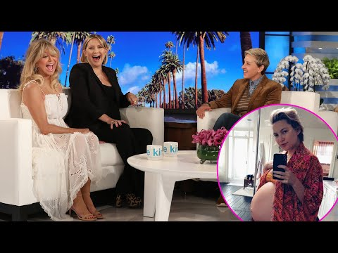 Pregnant Kate Hudson Says She Could Go Into Labor At 'Any Second'   Access