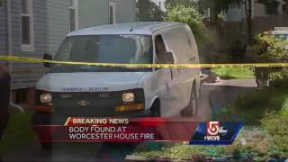 A 53-year-old man is dead after a fire in a Worcester apartment late Tuesday night, according to fire officials.Subscribe to WCVB on YouTube for more: http://bit.ly/2526UpSGet more Boston news: http://www.wcvb.comLike us: https://www.facebook.com/wcvb5Follow us: https://twitter.com/WCVBGoogle+: https://plus.google.com/+wcvb