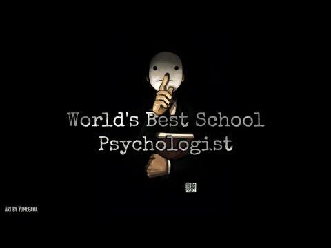 Cry Reads: World's Best School Psychologist