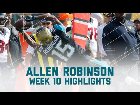 Allen Robinson Snags 9 Passes & 1 TD! | Texans vs. Jaguars | NFL Week 10 Player Highlights