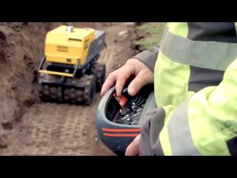 Atlas Copco LP 8504 trench roller